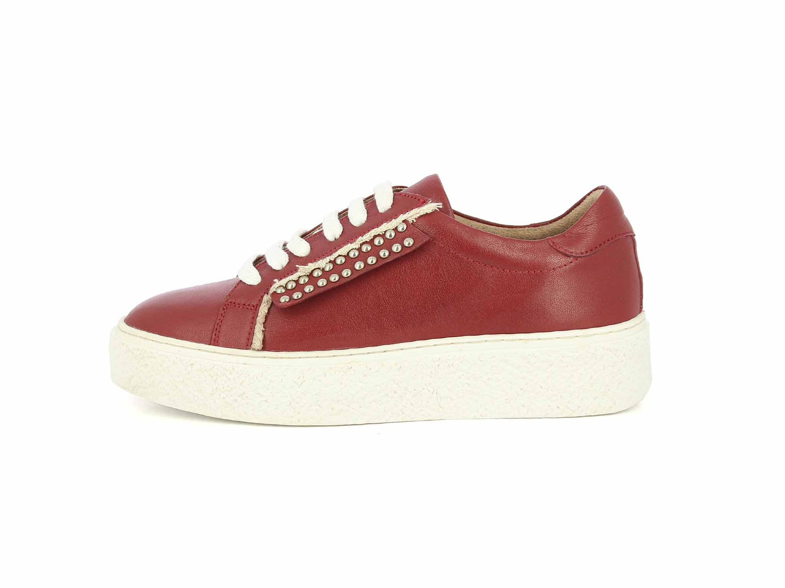 Alberto Torresi Red Women Sneakers