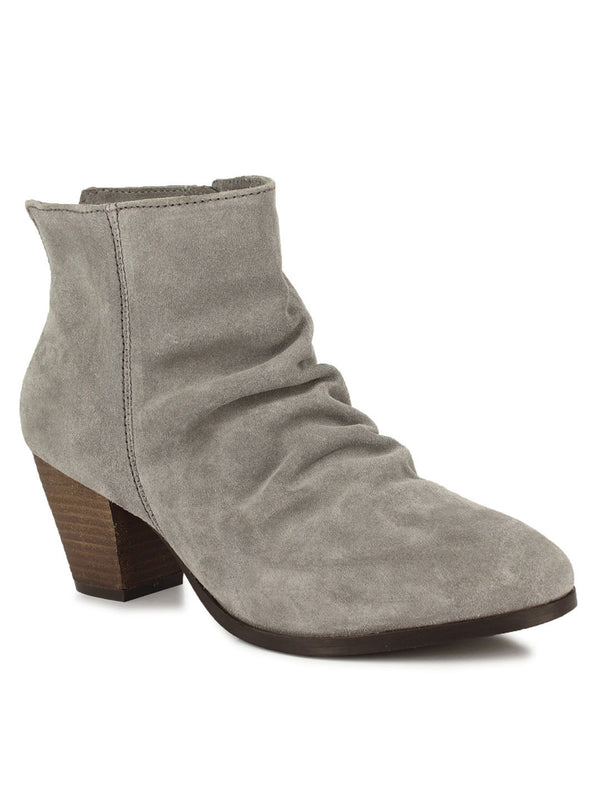 Fab Grey Suede Boots