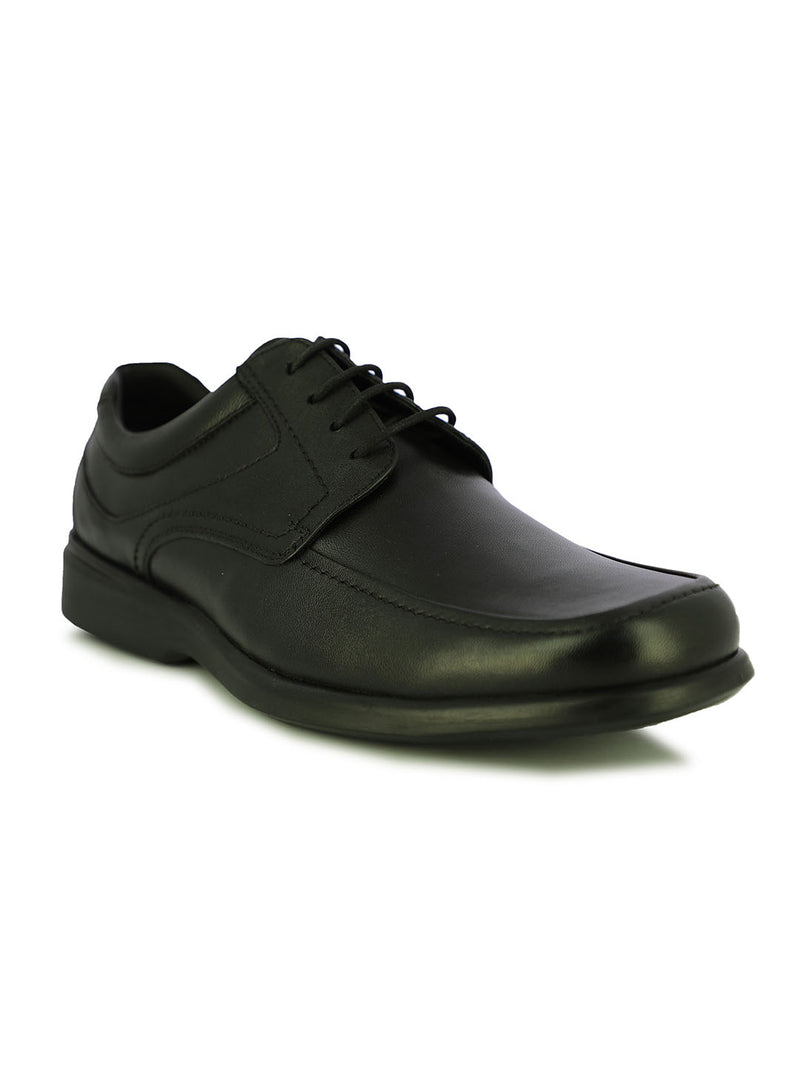 Burnaby Men's Black Formal Lace-Ups