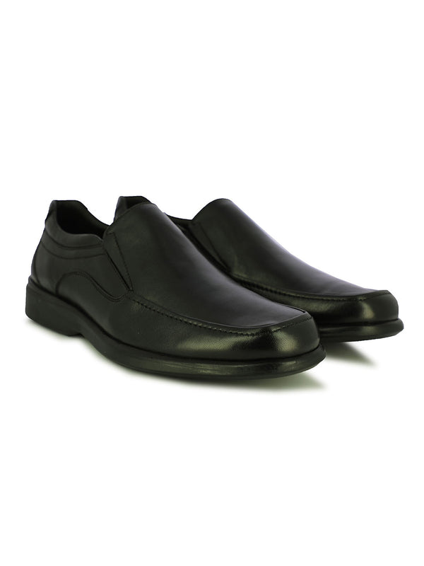 Hobart Men's Black Slip-Ons