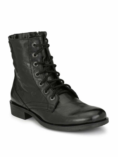 dad5f2d108d Alberto Torresi Barcus Black Ankle Boots