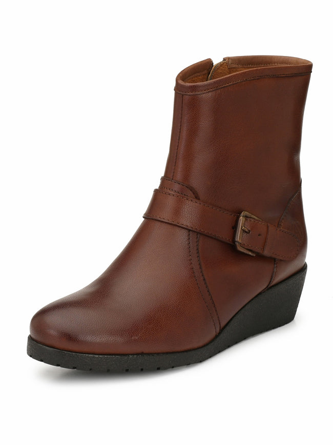 Alberto Torresi Women Natal Tan boot