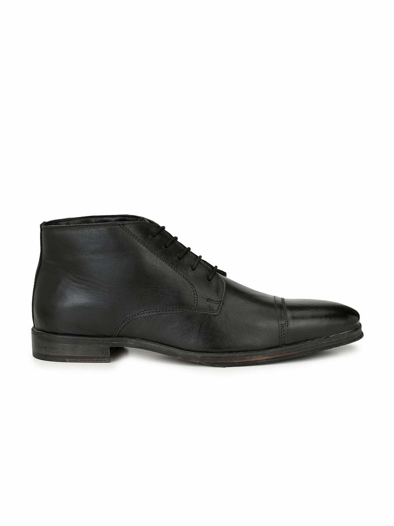 Alberto Torresi Islay Black Formal Shoes