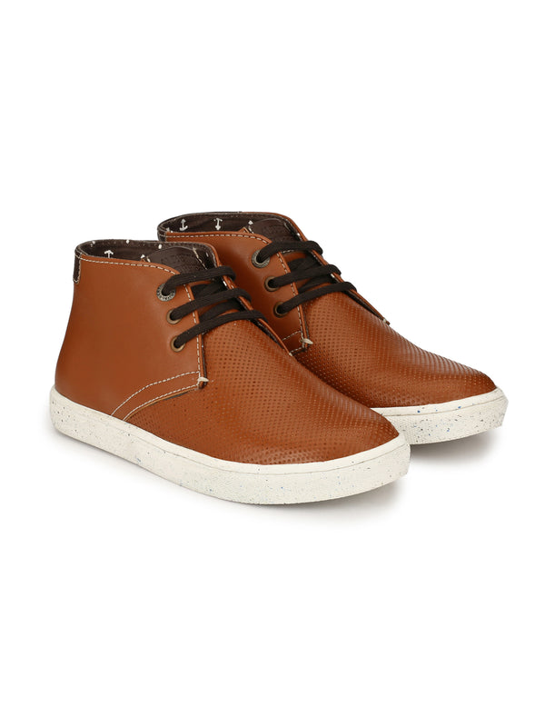 Alberto Torresi Ilario Tan + Brown Boot
