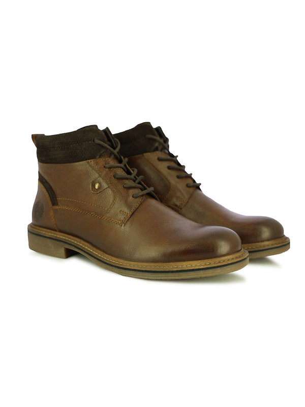 Destin Men's Tan Formal Boots