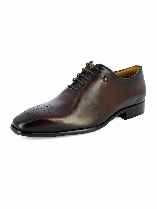 Alberto Torresi xande BLACK+BORDO Shoe