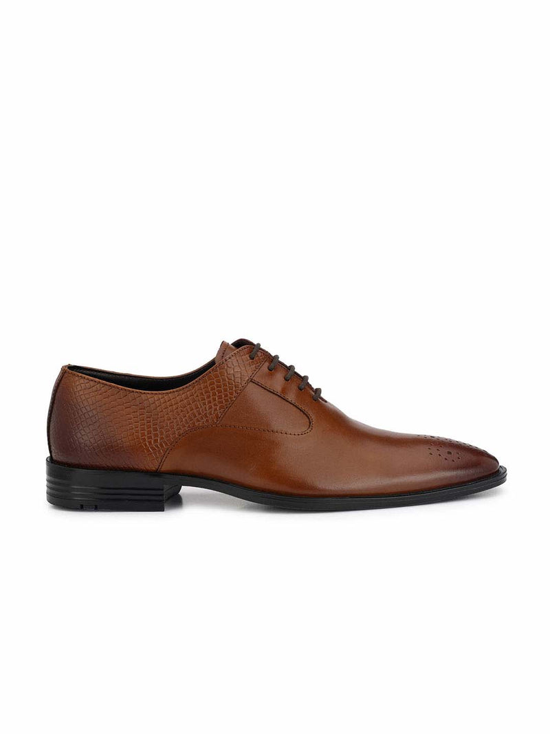 Alberto Torresi Men Tan Formal Shoes