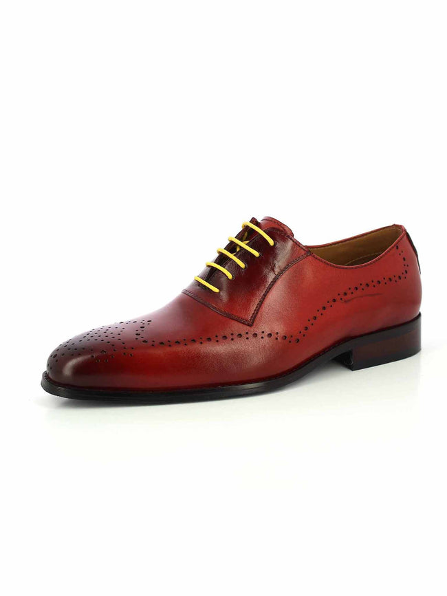 Alberto Torresi Mason Red Formal Shoe