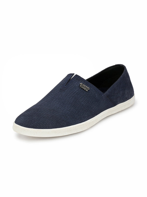 Alberto Torresi Leo Dress Blue Casual Shoe