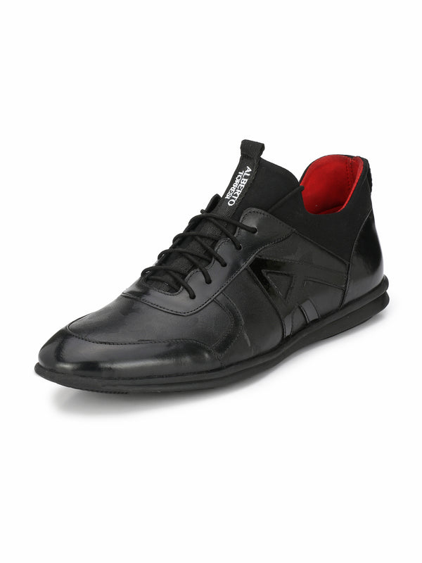 Alberto Torresi Axel Black Casual Shoe