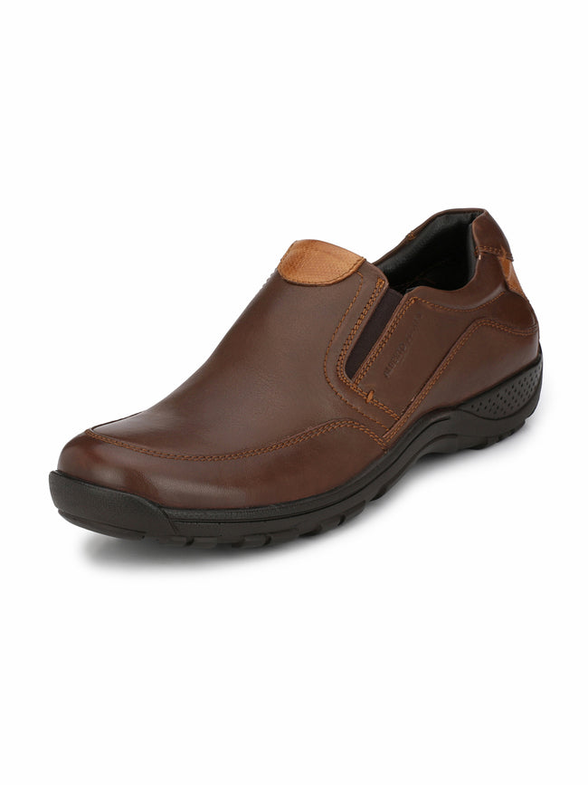 Alberto Torresi Theodore DARK BROWN+TAN Casual Shoe