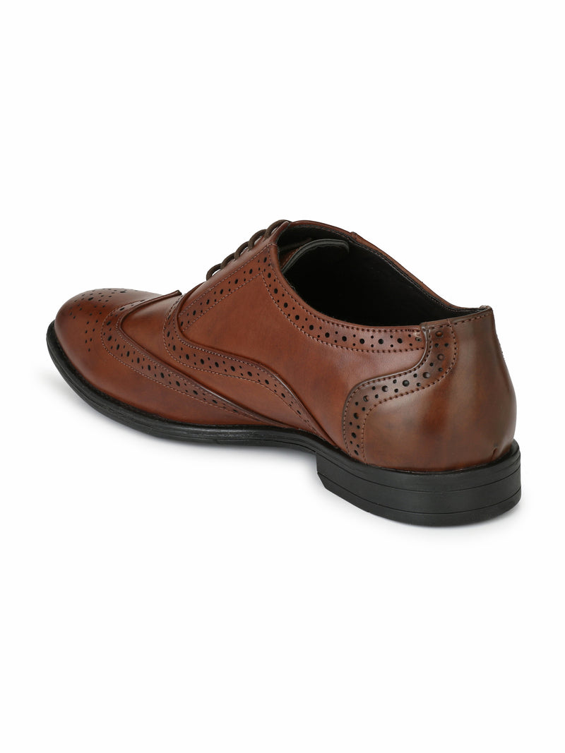 Alberto Torresi Houston Brown Formal Shoes