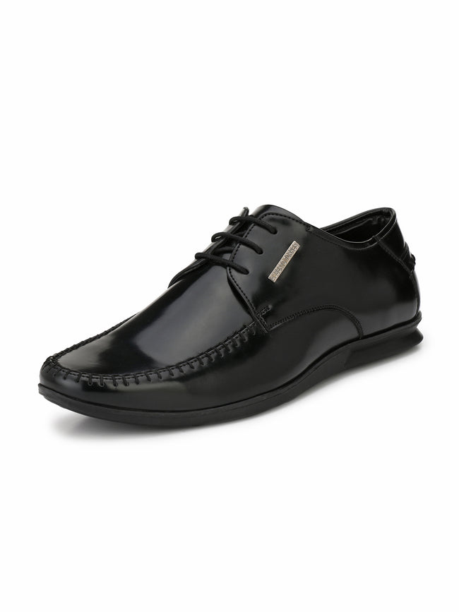 Alberto Torresi Texano BLACK Formal Shoes