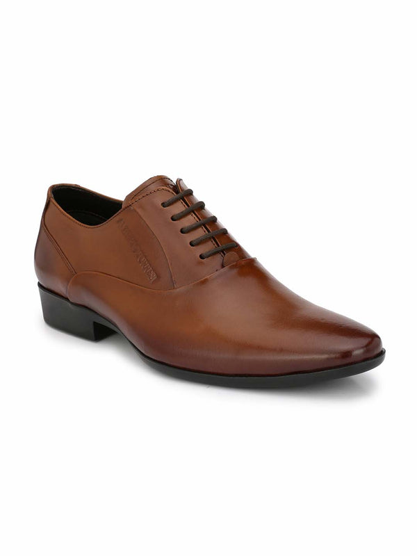 Alberto Torresi Maso Tan Formal Shoes