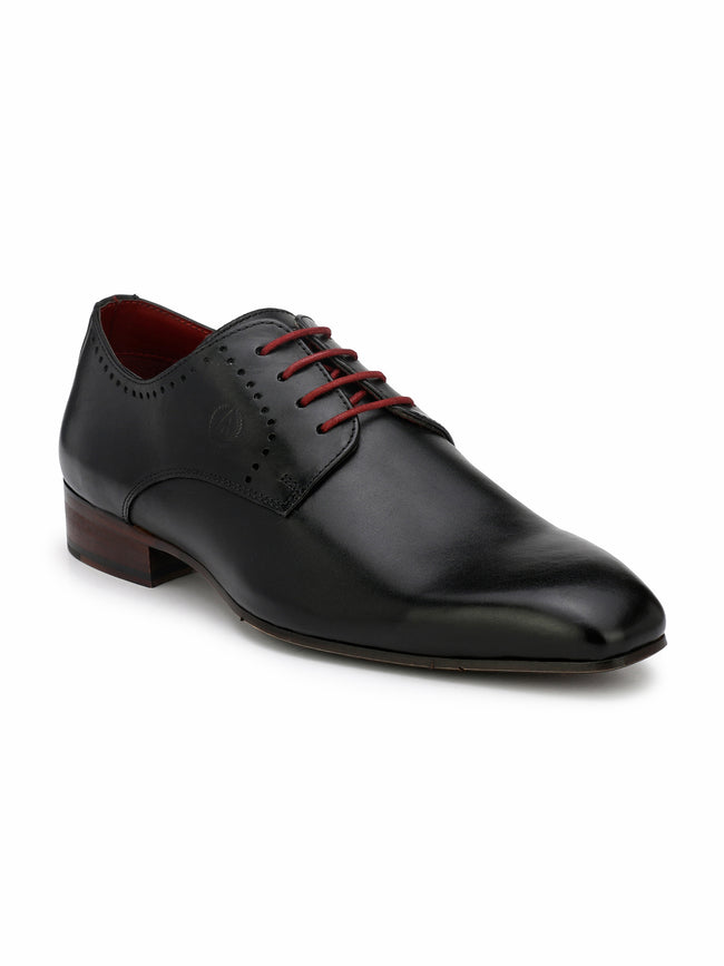 Alberto Torresi Martinopi Black Formal Shoes