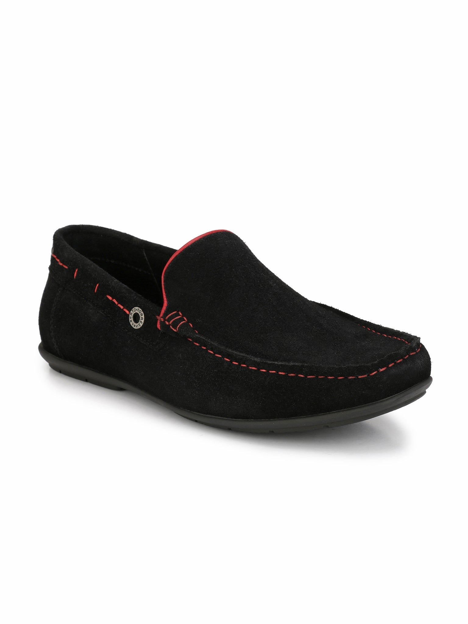 Alberto Torresi Donotepo Black Casual Shoes