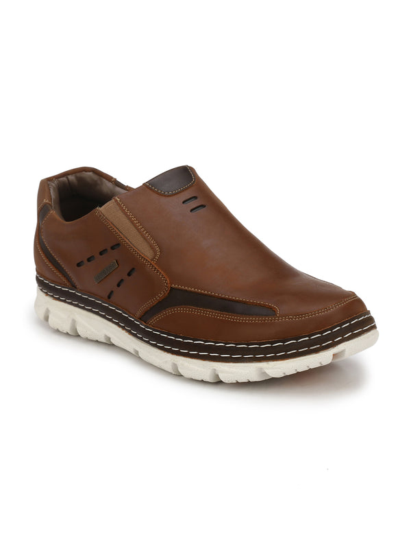 Alberto Torresi Men Tan Casual Shoes