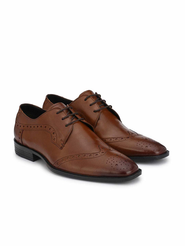 Alberto Torresi Exreno TAN Formal Shoes