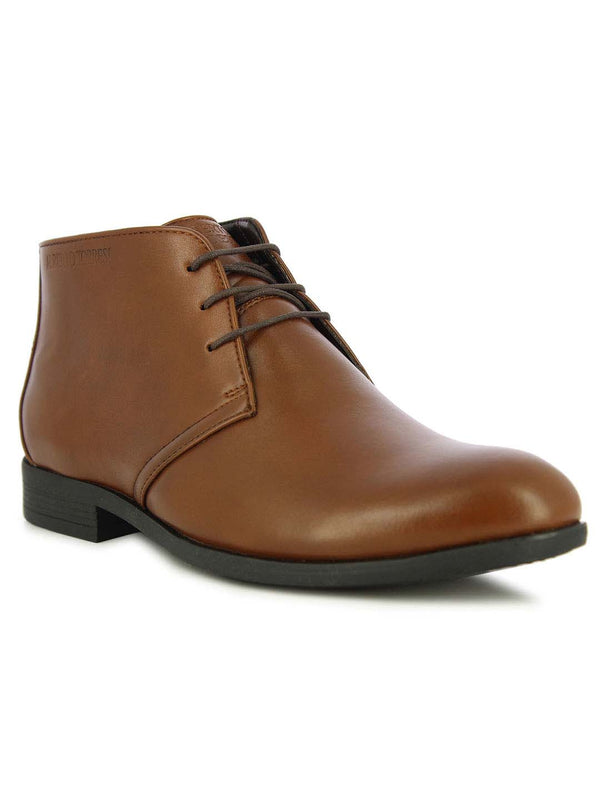 Alberto Torresi Men's Jakoba Tan Formal Boots