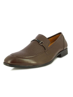 Alberto Torresi Crazy Burnish Brown Formal Shoes