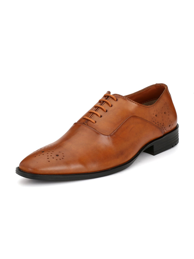Alberto Torresi Men Jacianta Tan Formal Shoe