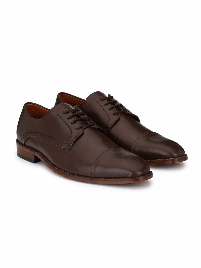 Alberto Torresi Men Alfred Toe-Capped Formal Shoes