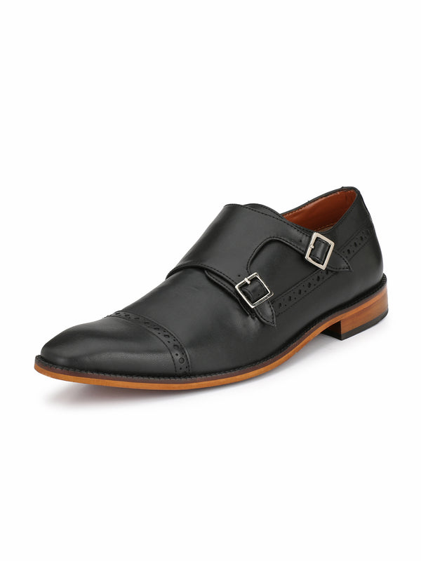 Alberto Torresi Men Jaques Black Formal Shoes