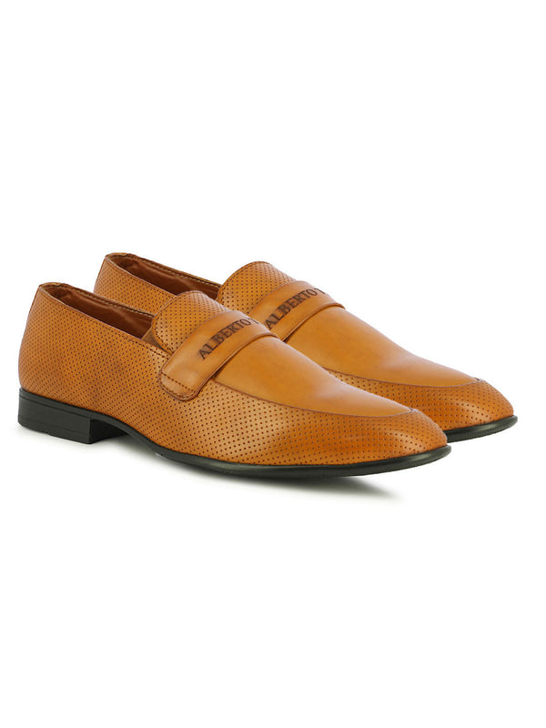 Alberto Torresi Men's Jael Tan Formal Shoe's