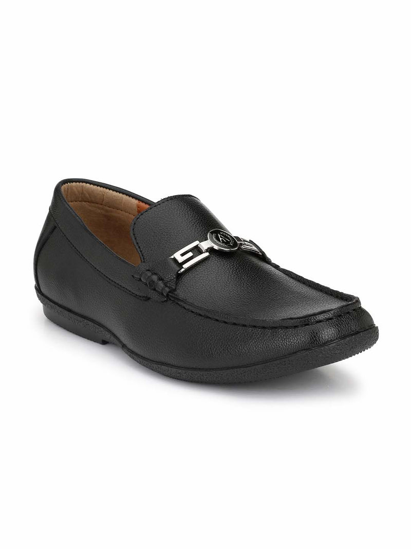 Alberto Torresi Men Jager Black Formal Shoes