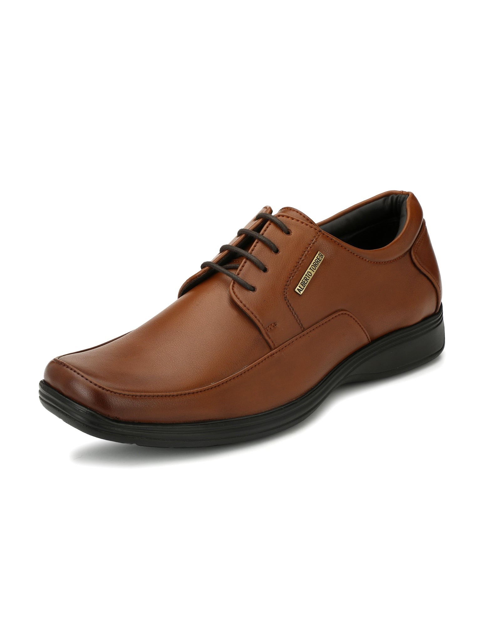 Alberto Torresi Men's Latin Tan Formal Shoes