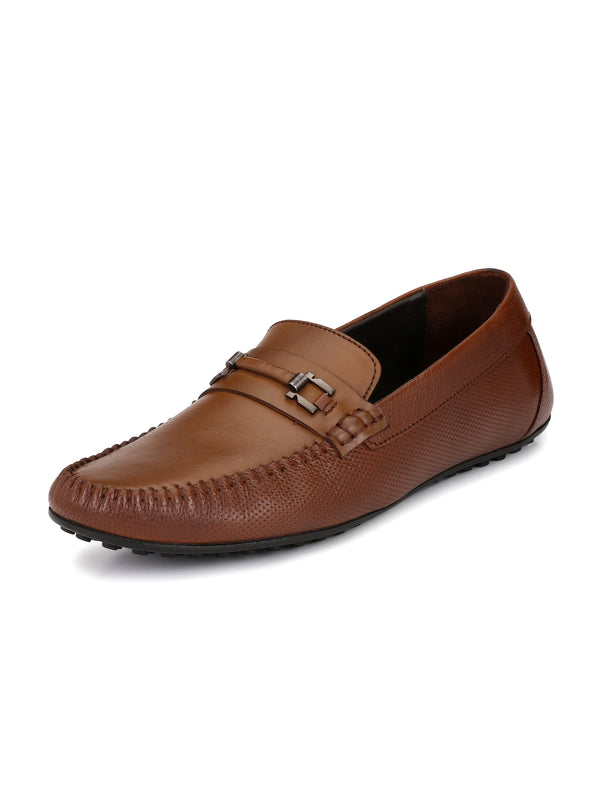 Alberto Torresi Men John Buckled Loafers