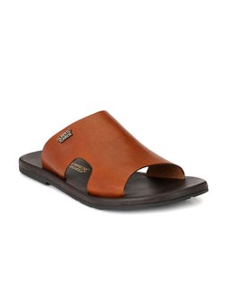 Alberto Torresi Men Massimo Tan Slippers