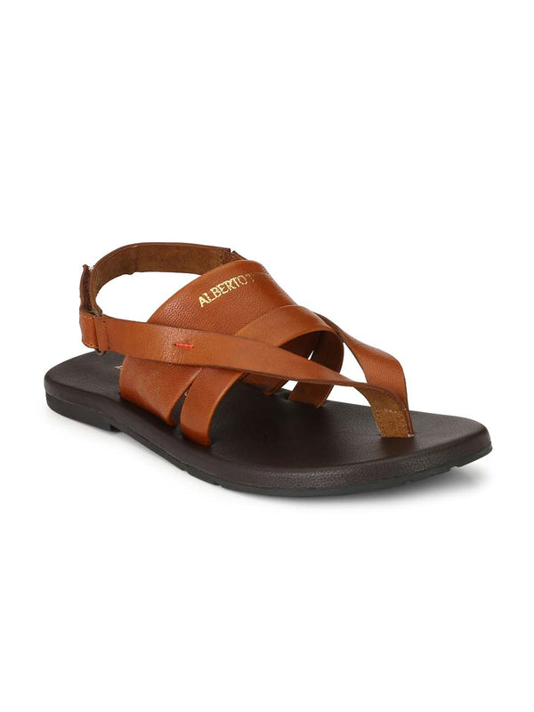 Alberto Torresi Men Finn Tan Sandals