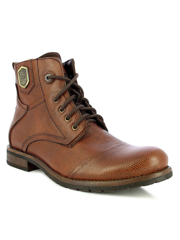 Alberto Torresi Men Mid Brown Eli High Top Boots