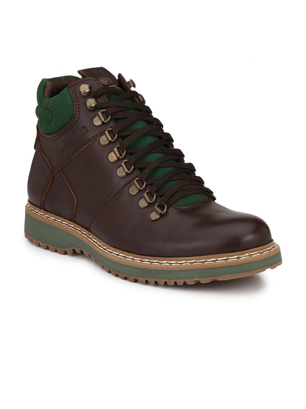 Alberto Torresi Men Brown Kylo Boots