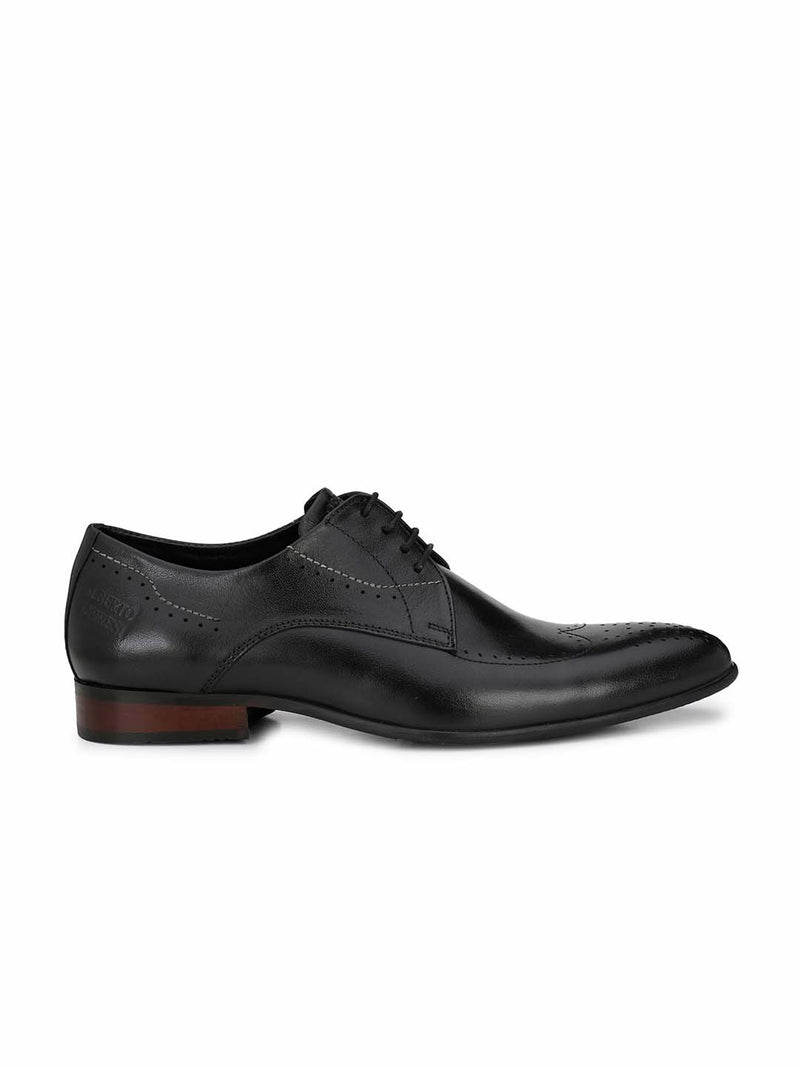 Alberto Torresi Men'S Black Kahiau Formal Shoes
