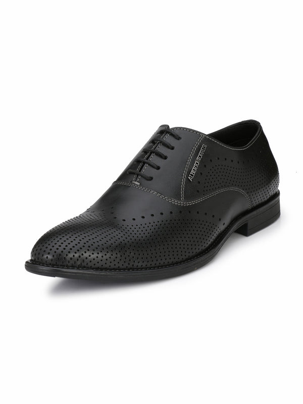 Alberto Torresi Men'S Black Kalama Formal Shoes