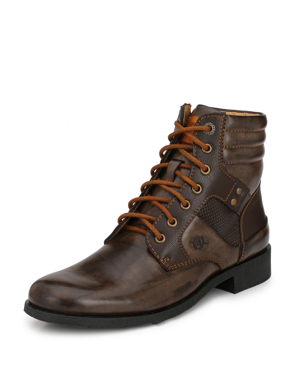 Alberto Torresi Men Brown Mikhael Boots
