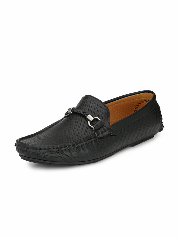 Alberto Torresi Men'S Adonis Self Patterned Loafers