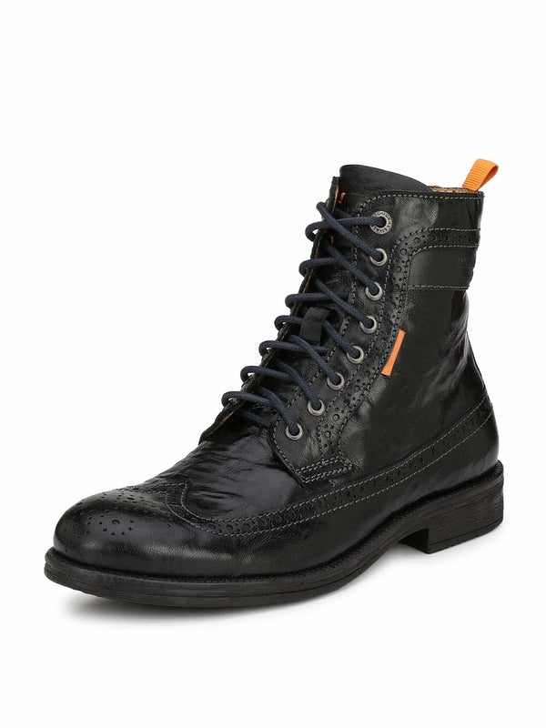 Alberto Torresi men Black Tyler boot