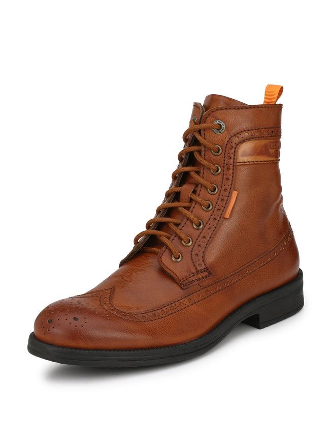 Alberto Torresi men Tan Zayn boot