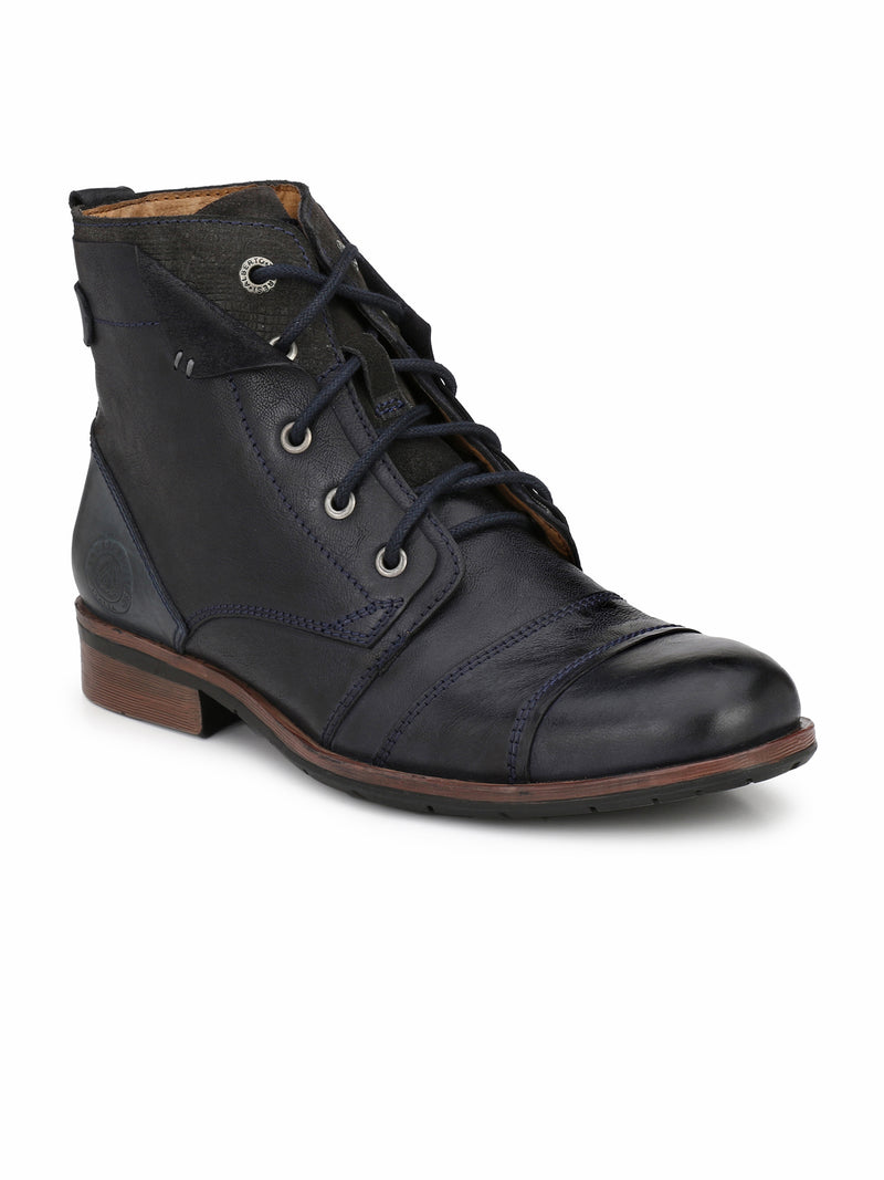 Alberto Torresi men Navy Silas boot