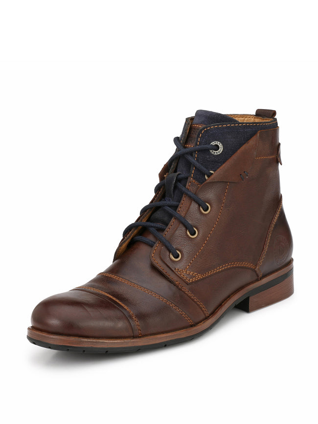 Alberto Torresi men Brown Silas boot