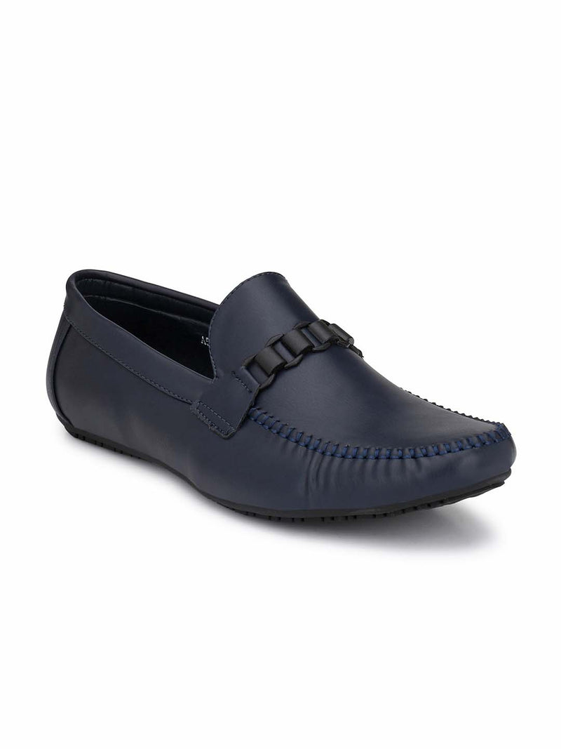 Alberto Torresi Mens Gregory Ruched Loafers