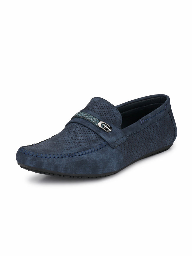 Alberto Torresi Mens Homer Perforated Loafers