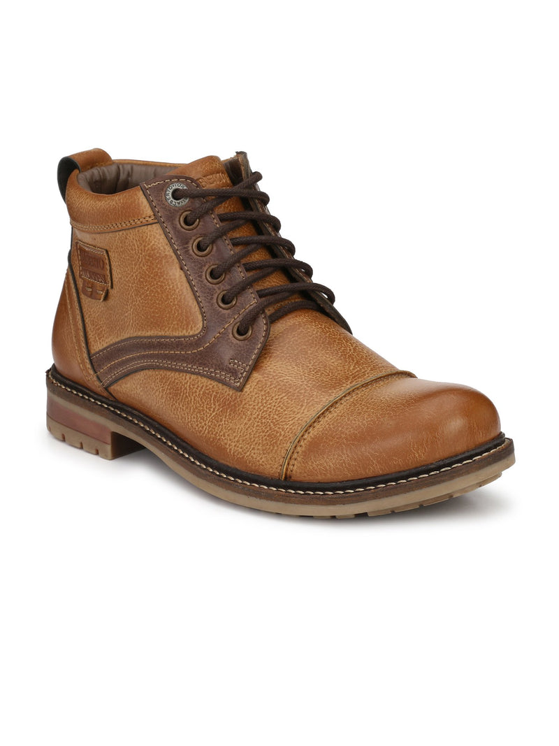 Alberto Torresi men Tan Nathan boot