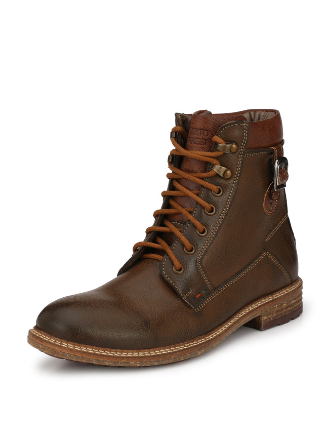 Alberto Torresi men Brown Caleb boot