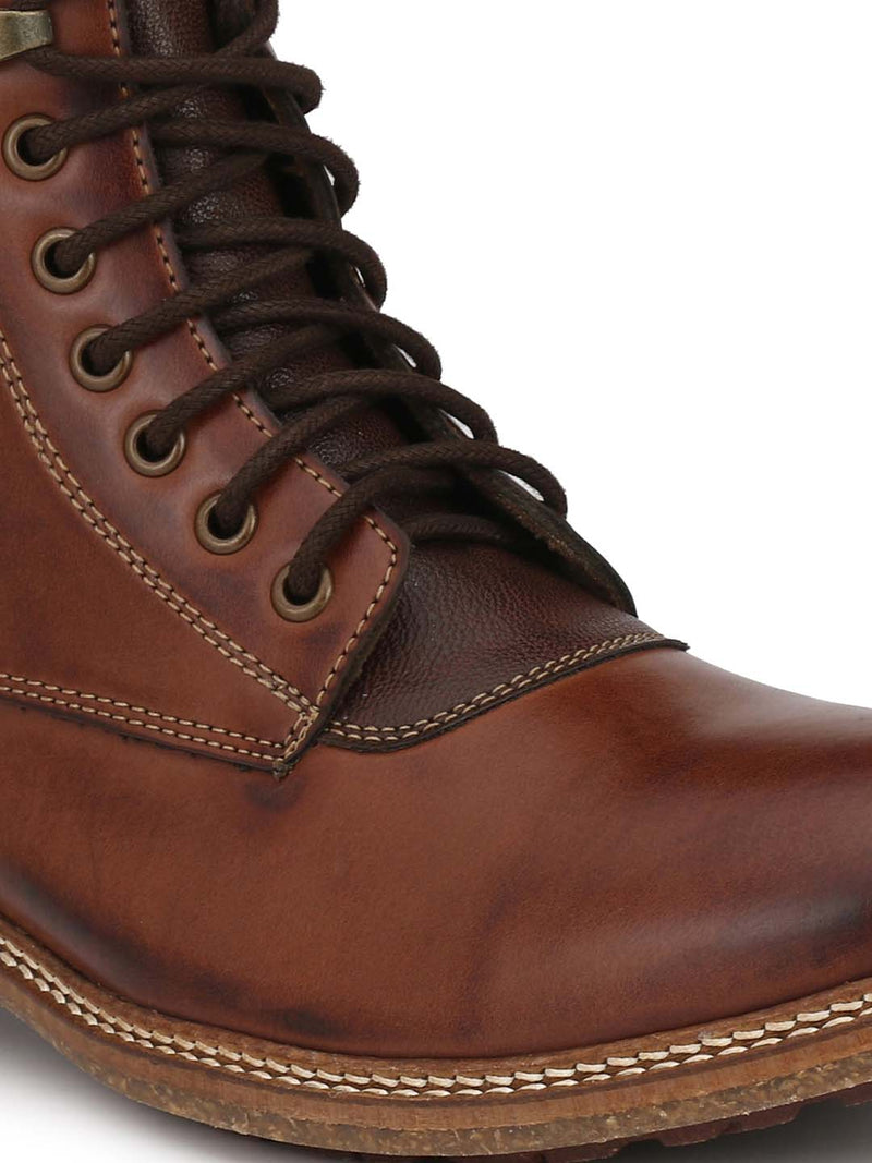 Alberto Torresi Men Dark Brown Cameron Boots