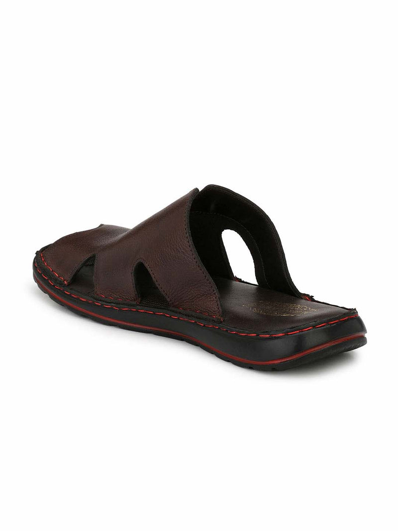 Alberto Torresi Linus DARK BROWN slipper