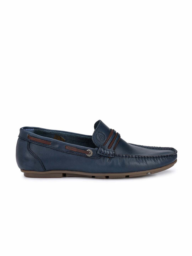 Alberto Torresi Tenerife Blue Casual Shoes